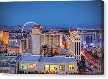 High Roller - Night Canvas Print