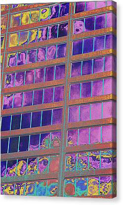 High Roller Suites At The Flamingo Hotel Canvas Print by Richard Henne
