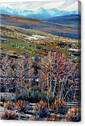 High Sierra Canvas Print by Donald Maier