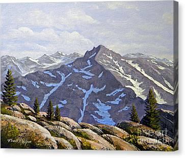High Sierras Study Canvas Print by Frank Wilson