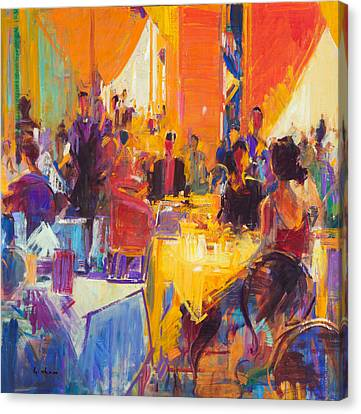 High Society Canvas Print by Peter Graham