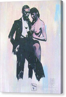 High Society Canvas Print by Roberto Prusso