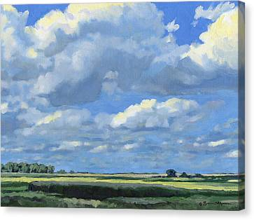 High Summer Canvas Print by Bruce Morrison