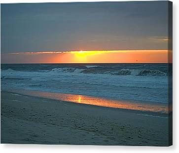 High Sunrise Canvas Print by  Newwwman