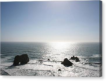 High Tide Canvas Print by Holly Ethan