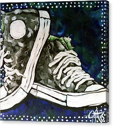High Top Heaven Canvas Print by Jackie Carpenter