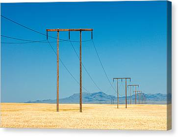 High Voltage Canvas Print by Todd Klassy