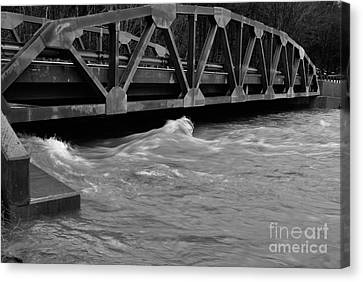 High Water Canvas Print by Randy Bodkins