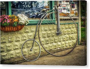 Canvas Print featuring the photograph High Wheeler by Guy Whiteley