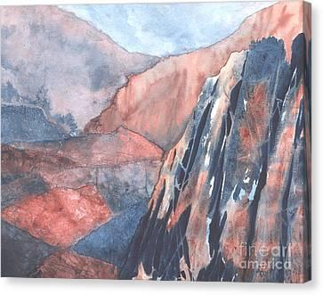 Higher Ground Canvas Print by Lynn Quinn