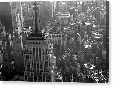 Higher Than Empire State Canvas Print