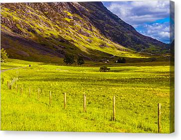 Highland Way I Canvas Print by Steven Ainsworth