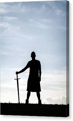 Highlander Canvas Print by Joana Kruse