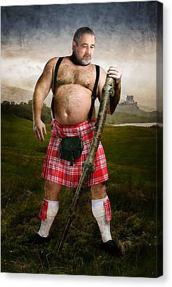 Highlands Canvas Print by Bear Pictureart