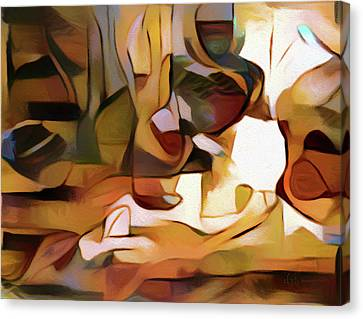 Highly Sensitive Abstract Realism Canvas Print