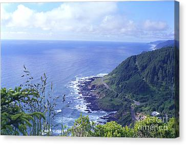 Highway 101 Oregon Canvas Print