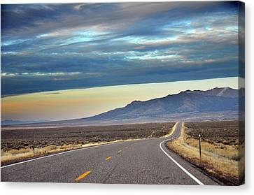 Highway 130 To Minersville Canvas Print by Utah-based Photographer Ryan Houston