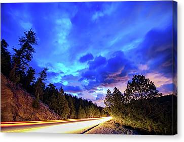 Canvas Print featuring the photograph Highway 7 To Heaven by James BO Insogna