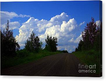 Highway To Heaven Canvas Print by The Stone Age