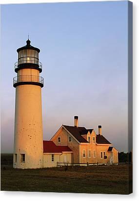 Higland Lighthouse Cape Cod Canvas Print by Roupen  Baker
