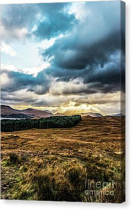 Canvas Print featuring the photograph Higlands Wonders by Anthony Baatz