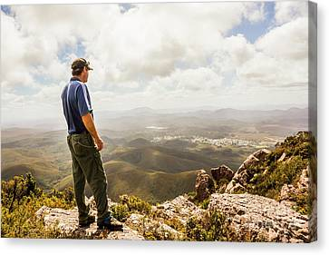 Hiking Australia Canvas Print by Jorgo Photography - Wall Art Gallery