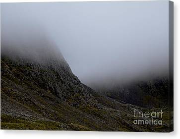 Hiking In The Uk Canvas Print by Steven Brennan