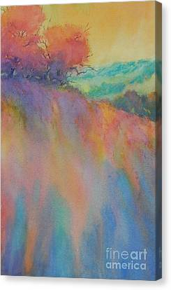 Hill Country Abstract No 10 Canvas Print