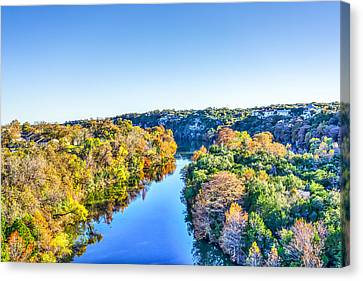 Hill Country Fall Canvas Print by Tod and Cynthia Grubbs
