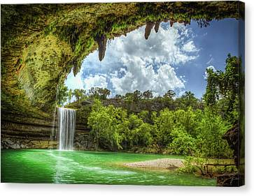 Hill Country Paradise Canvas Print