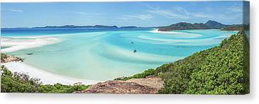 Hill Inlet Lookout Canvas Print