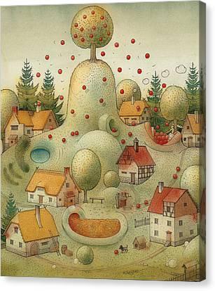 Hill Canvas Print by Kestutis Kasparavicius