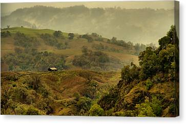 Hills Above Anderson Valley Canvas Print