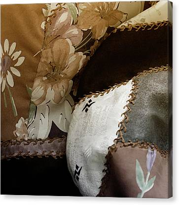 Hills And Valleys Canvas Print by Bonnie Bruno
