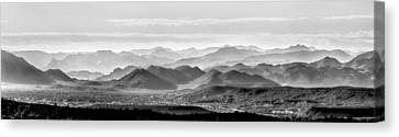 Hills Of The Tonto Canvas Print