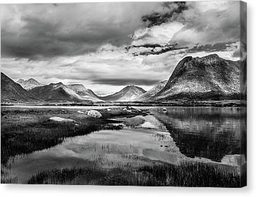 Canvas Print featuring the photograph Hills Of Vesteralen by Dmytro Korol