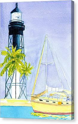 Hillsboro Inlet Canvas Print