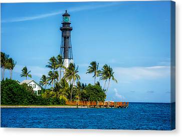 Hillsboro Inlet Lighthouse - 1 Canvas Print
