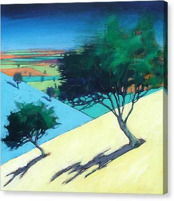 Hillside Canvas Print by Paul Powis
