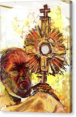 Him Canvas Print by James Thomas