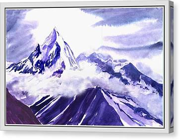 Himalaya Canvas Print by Anil Nene