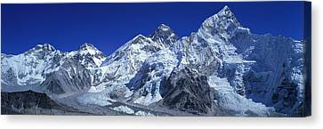 Himalaya Mountains, Nepal Canvas Print by Panoramic Images