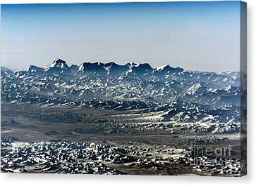 Tibetan Canvas Print - Himalayas From Space by NASA / Science Source