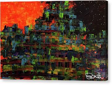Himmel Und Erde  Canvas Print by Bonita Berry