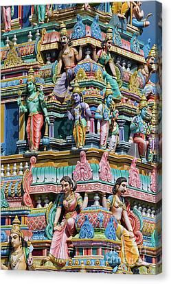 Hindu Temple Gopuram Canvas Print