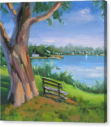 Hingham's Beauty Canvas Print by Laura Lee Zanghetti