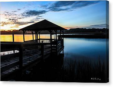 Hinson House Dock Canvas Print by Bill Cantey