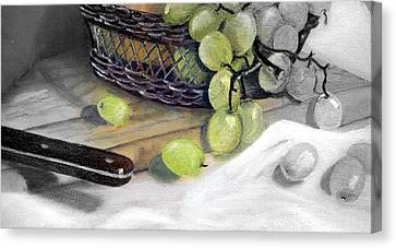 Hint Of Color Canvas Print by Penny Everhart