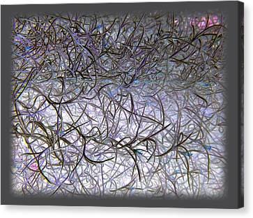 Hint Of Colour Canvas Print