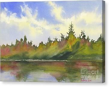 Hint Of Fall Canvas Print
